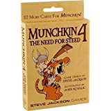 Steve Jackson Games 1444 Munchkin 4 The Need for Steed Strategy Game