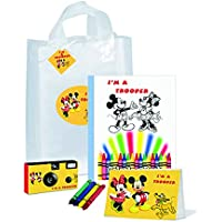 Mickey & minnie- I ' m a Trooperギフトバッグ–- Goodiesのフル。Be Brave。Be Strong。( pkg110)