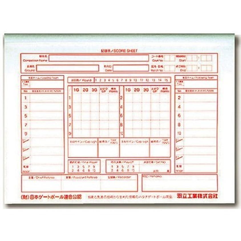カリングレトルト分解する羽立(HATACHI) 審判記録用紙 GB3500