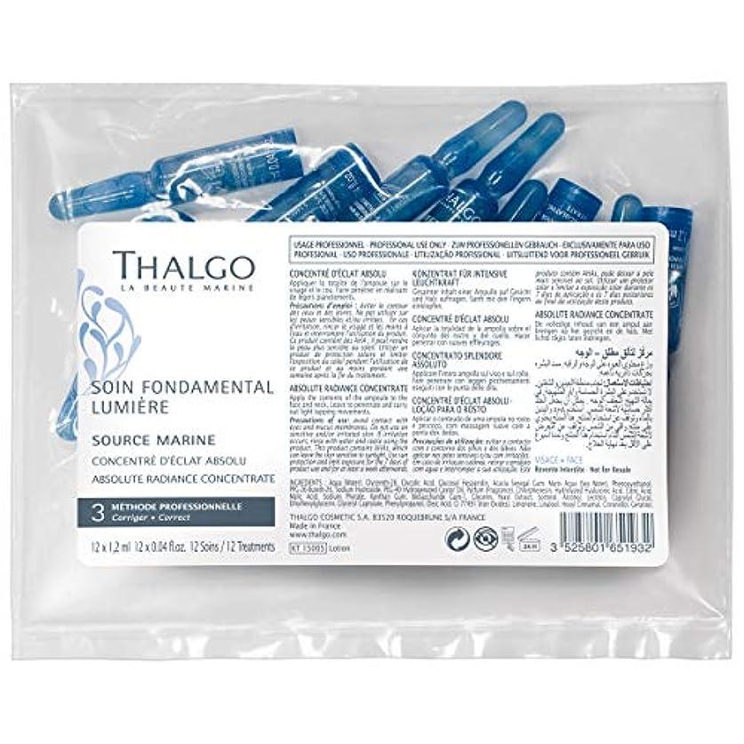 タルゴ Source Marine Absolute Radiance Concentrate - For Dull & Tired Skin (Salon Size; In Pack) 12x1.2ml/0.04oz並行輸入品