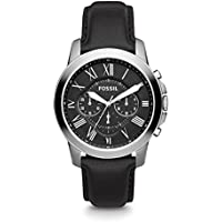 Fossil Men's Grant Analog Analog-quartz Black Watch, (FS4812)