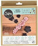Ellison Sizzix Movers and Shapers Carnation Stack Magnetic Die Set by Jill MacKay by Sizzix