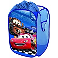 Cars カーズ ポップアップハンパ― ランドリーバスケット 洗濯入れ おもちゃ入れ [並行輸入品]