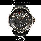 シャネル J12 マットブラックセラミック GMT H3101 ブラック メンズ 腕時計 [並行輸入品]