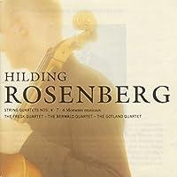 Rosenberg: String Quartet Nos. 4 & 7/6 Moments Mus