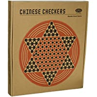Wild Wood Chinese Checkers Board Game