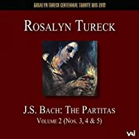 Partitas 2: Partitas 3 4 5 by J.S. Bach