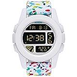 [ニクソン] NIXON 腕時計 時計 A197 ユニット UNIT レディース メンズ 防水 かわいい おしゃれ 白 100m防水 プレゼント サーフ 海 キッズ カラフル シリコン