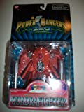 Power Rangers Zeo 1996 Evil Space Alien Missile Launching Quadrafighter MOSC MOC