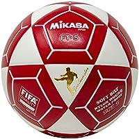 Mikasa ft5 Goal Master Soccer Ball、ホワイト/レッド、サイズ5