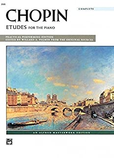 Etudes For the Piano: Practical Performing Edition : Complete (Alfred Masterwork Editions) (0739024973) | Amazon price tracker / tracking, Amazon price history charts, Amazon price watches, Amazon price drop alerts
