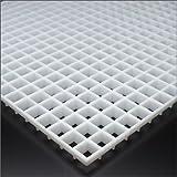 e-kanamono プラスチックルーバー 15-11TYPE LGP-15-11W 乳白色 608mm x 1216mm