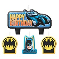 Batman Birthday Candle Set4パック – パーティーSupplies
