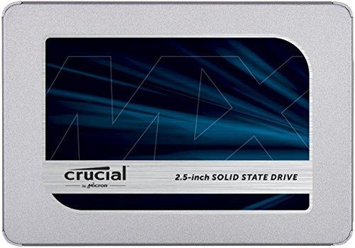 Crucial MX500 500GB 3D NAND SATA 2.5 Inch Internal SSD - CT500MX500SSD1 [並行輸入品]