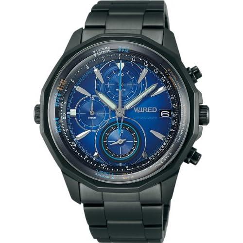 [ワイアード]WIRED 腕時計 THE BLUE - SKY 日常生活用強化防水 (10気圧) クオーツ AGAW421 メンズ