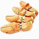 FIS-I (フィス―アイ) 天然 木製 シューキーパー 靴 ブーツ 用 メンズ レディース シューツリー (37 / 38 2 足)