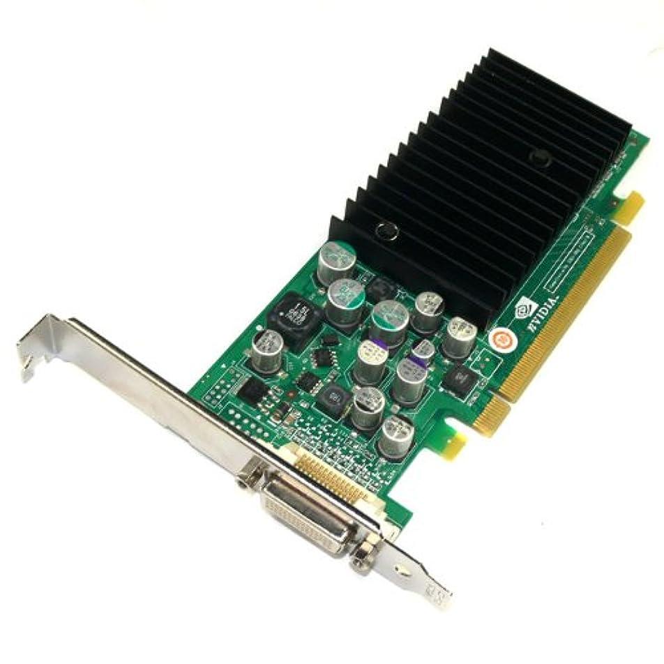 永久記念碑的な熱Dell / NVIDIA x8702 Quadro nvs285ビデオグラフィックス高プロファイルPCI - Eカード, Includes a DMS - 59 to Dual DVIスプリッタケーブル、64 MB最大320 MB Via共有メモリwith TurboCache