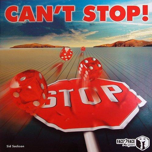 キャントストップ (Can't Stop) ボードゲーム