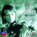 ブラームス:ヴァイオリン協奏曲/バッハ:無伴奏ヴァイオリン・パルティータ第2番