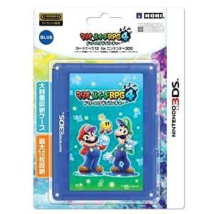 任天堂公式ライセンス商品 マリオ&ルイージRPG4 ドリームアドベンチャー カードケース12 for ニンテンドー3DS ブルー