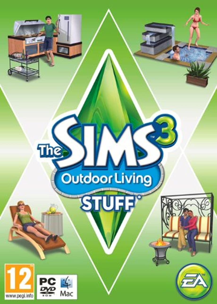 雇った魔術会話The Sims 3: Outdoor Living Stuff (PC) (輸入版)