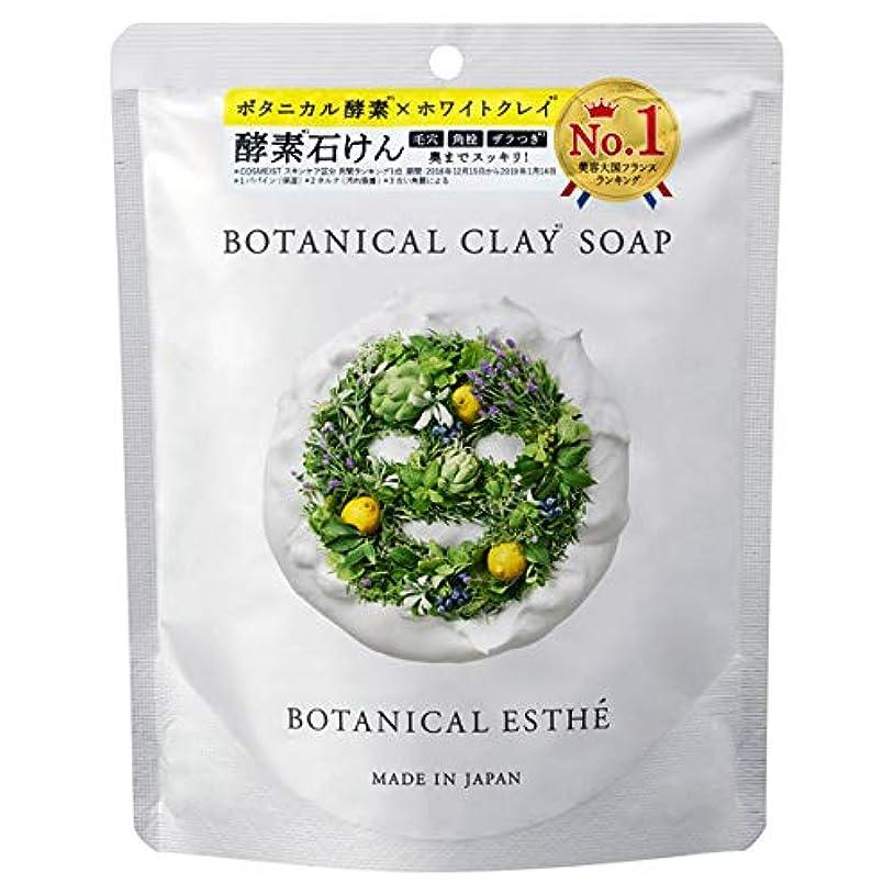 毒液無駄お酢ボタニカルエステ ボタニカルクレイソープ 80g
