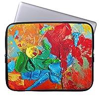 芸術の店 ラップトップスリーブノート パソコン PC インナーケース 17-17.3 インチ ノートPC スリーブ ケース 撥水 ネオプレーン インナー バッグ 保護 ソフト