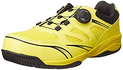 [イグニオ] セーフティシューズ(安全靴) JSAA B種認定 TGFダイヤル式 IGS1015TGF YL イエロー/ブラック 24.5
