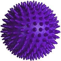 [ノーブランド品] 血液循環促進 緊張緩和 セラピー ボール 8cm パープル