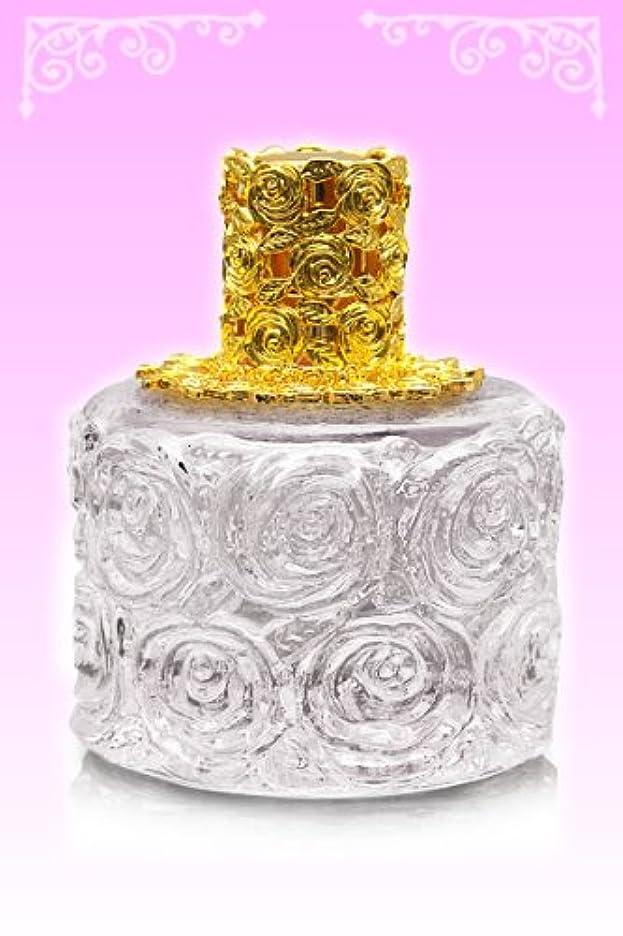 花に水をやる未満前提【ノエルランプ】ミニローズランプ クリア?ゴールド ランプベルジェ製アロマオイルでも使用可