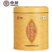 中茶の緑茶の2018年西湖の竜井の茶の缶は茶の150 gの中で食糧の中華の老舗を散らします 中茶 绿茶 2018年西湖龙井茶叶罐装散茶150g 中粮 中华老字号