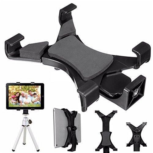 Balckcase タブレット用スタンド ホルダー 一脚/三脚/自撮り棒用 写真撮影/YouTube用 三脚1/4ネジ穴搭載 iPad air・iPad mini・Nexus7等対応