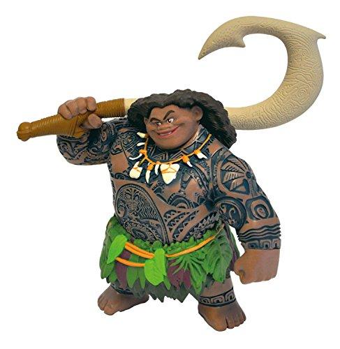 ブリーランド ディズニー「モアナと伝説の海」 フィギュア 4パック Bullyland BUL-13181 Moana Figure (4-Piece)【平行輸入品】