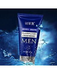 60ml 薬用除毛剤 除毛 脱毛クリーム 無痛無害 メンズ 敏感肌用 すべての肌タイプ 使用可能