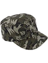 Fenteer 帽子 野球帽 ハット  キャップ 調節可能 練習用 迷彩 全5タイプ選べる