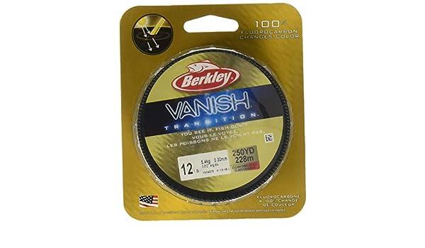 Berkley Vanish Transition Fluorocarbon 4lb 250yds Clear