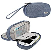 BUBM Sony PSV Double Compartment Storage Case Protective Carrying bag Portable Travel Organizer Case for PSV and Other AccessoriesBlue [並行輸入品]