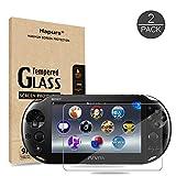 Hapurs PlayStation Vita PCH-2000専用 PS Vita 2000 強化ガラス保護フィルム 硬度9H 厚さ0.3mm (2枚組)