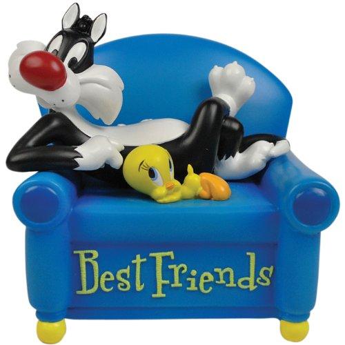 【LOONY TUNES/ルーニーテューンズ】 オルゴール 『シルベスター&トゥイーティ(Best Friends)』