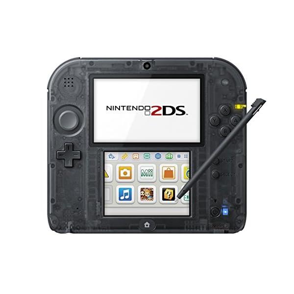 ニンテンドー2DS クリアブラックの商品画像