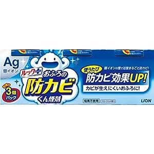 【まとめ買い】ルック おふろの防カビくん煙剤 フローラルの香り 5g×3個パック