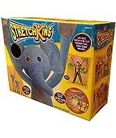 Stretchkins Elephant life-size Plush Toy再生できる、ダンス、練習とHave Fun with by Strecthkins