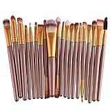 Professional 20pcs/set makeup brushes Foundation Powder Eyeshadow Blush ...