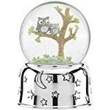 Reed & Barton 869687 Hazelnut Hollow Owl Musical Waterglobe [並行輸入品]