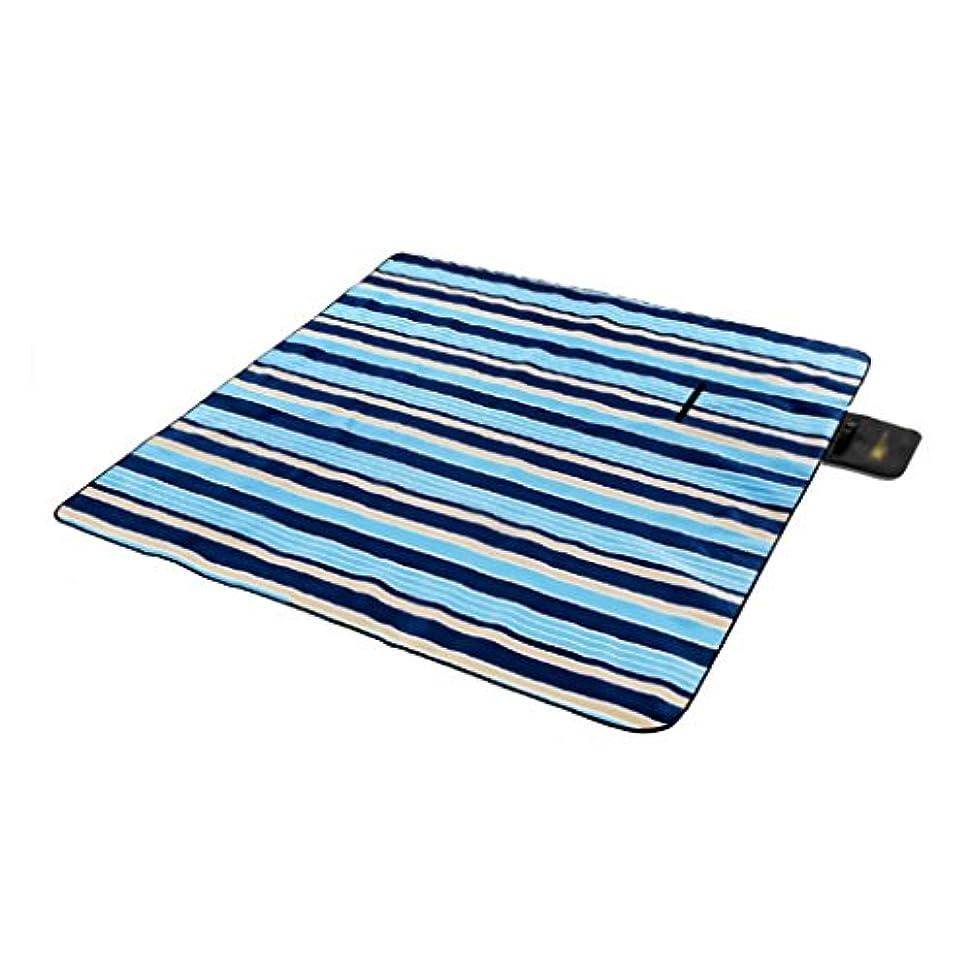 玉クレアめったに防水厚いピクニックの毛布の水分屋外マットの芝生マット (Size : 200 * 200cm/78.7 * 78.7inch)