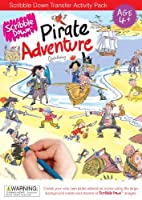Scribble Down Pirate Adventure Transfer Activity Packs [並行輸入品]