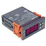 docooler  10A AC110V デジタル温度調節計 熱電対-58-194華氏 センサーつけ【並行輸入品】