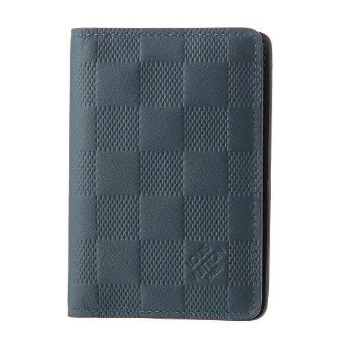 ルイヴィトン(Louis Vuitton) ダミエ アンフィニ DAMIER INFINI N63203 カードケース(名刺入れ) ネイビー 紺[並行輸入品]