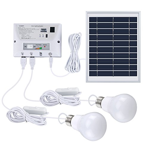 suaoki ソーラーシステム ソーラーパネルセット USB出力4ポート L...