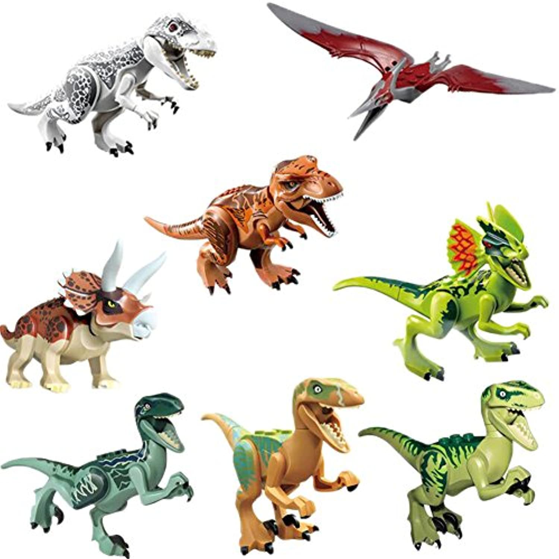 (トイホーム)Toy home子供 恐竜はめ込み玩具 知育玩具 8個セット